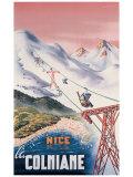 Nice la Colmiane Giclee Print by  Mandoni