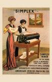 Simplex Ironer, 1915 Art by D. Dettelbach