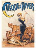 Cirque d&#39;Hiver Giclee Print by J. Boichard