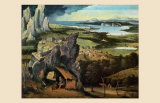 Saint Jerome on the Road Prints by Joachim Patenir