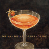 Cocktail Prints by Eric Barjot