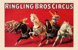 Rigling Bros Circus, 1916 Print