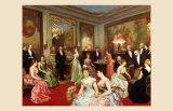 Une Soiree a l'Hotel de Verteillac, 35 Bd des Invalides Affiche par Horace De Callias