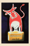 Monsavon Au Lait Posters por Raymond Savignac