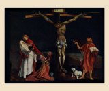 Crucifixion Prints by Matthias Grunewald
