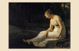 Melancholy, 1801 Prints by Constance Marie Charpentier