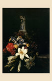 Bouquet de Fleur Devant un Vase de Chine, 1661 Art by Josepha