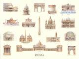 Roma Posters by Libero Patrignani