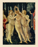 The Three Graces Prints by Sandro Botticelli