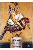 Chocolat Schaal Giclee Print by Abel Faivre