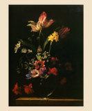 Bouquet de Fleurs Prints by Jean-michel Picart