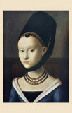 Portrait de Jeune Femme Posters by Petrus Christus