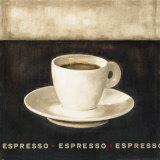 Espresso Kunstdruck von G.p. Mepas
