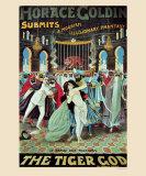 Horace Goldin: The Tiger God, 1920 Print