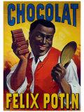 Chocolat Felix Potin Giclee Print by  Mourgue