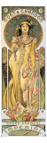 Moët et Chandon Reproduction procédé giclée par Alphonse Mucha