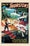 Thurston's Levitation, 1935 Posters