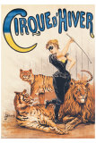 J. Boichard - Cirque d'Hiver - Giclee Baskı