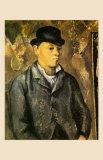 Portrait of the Son of the Artist, 1885 Prints by Paul Cézanne