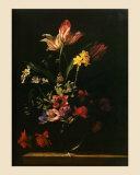 Ramo de Flores Pósters por Jean-michel Picart
