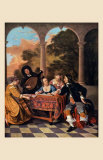 Compagnie Faisant de la Musique Prints by Jacob van Loo