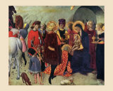 Adoration of the Magi Posters af Sassetta,