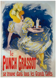 Punch Grassot Giclee Print by Jules Chéret