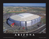 Arizona Cardinals- Glendale, Arizona Prints