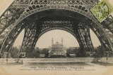 La Base de la Tour Eiffel Print by Hugo Wild