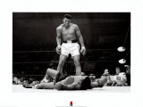 Muhammad Ali contra Sonny Liston Psters