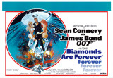 James Bond Diamonds Are Forever Prints