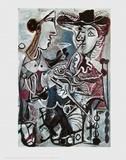 Das Paar Poster von Pablo Picasso