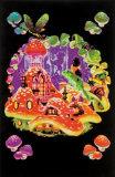 Mushroom Frog Prints