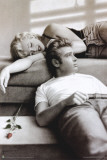 Marilyn Monroe & James Dean Kunstdrucke