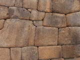Original Inca Wall Pattern, Machu Picchu, Peru, South America Photographic Print by David Tipling