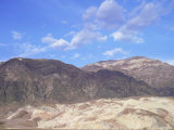Black Mountains Landscape, Death Valley, California, USA Prints by David Kjaer
