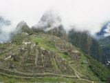 Machu Picchu, Lost City of the Incas, Peru Photographic Print by Doug Allan