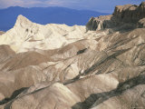 Zabriskie Point after Sunrise, Death Valley Badlands Landscape, California, USA Photographic Print by David Kjaer