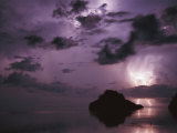 Lightning and Thunderstorm Over Sulu-Sulawesi Seas, Indo-Pacific Ocean Photographic Print by Jurgen Freund