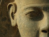 Close up of Ramses II Statue Luxor, Egypt Posters by Staffan Widstrand