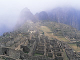 Panoramic View of Machu Picchu, Peru, South America Photographic Print by David Tipling
