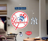 Yankees Logo -Fathead Wall Decal
