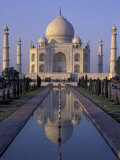 Taj Mahal, Agra, Uttar Pradesh, India Photographic Print by Peter Oxford