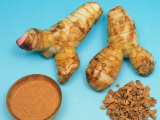 Galangal / Ginger Roots and Powder (Alpinia Galanga) Prints by  Reinhard