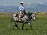 Woman Riding Quarter Horse, Colorado, USA Photo by Carol Walker