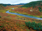 The Upper Shumnaya River Starts in the Caldera of the Uzon Volcano, Russia Photographic Print by Igor Shpilenok