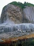 Stolbchaty (Column) Cape Basalt Columns, Kunashir Island, Kurilsky Zapovednik Russia Posters by Igor Shpilenok