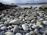 Stony Beach on Knoydart Peninsula, Western Scotland Photographic Print by Pete Cairns