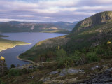 Late Evening Light Over Norwegian Fjord, Lausvnes, Nord-Trondelag, Norway, Europe Photographic Print by Pete Cairns