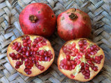 Pomegranate Fruit (Punica Granatum) Print by Reinhard